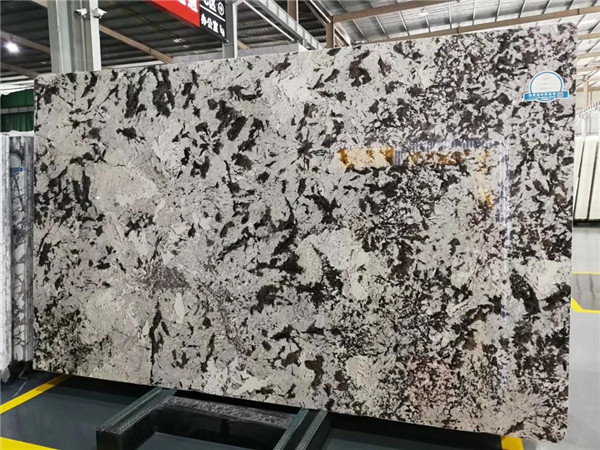 Luxury Backlit Alpinus White Slab For Background Wall