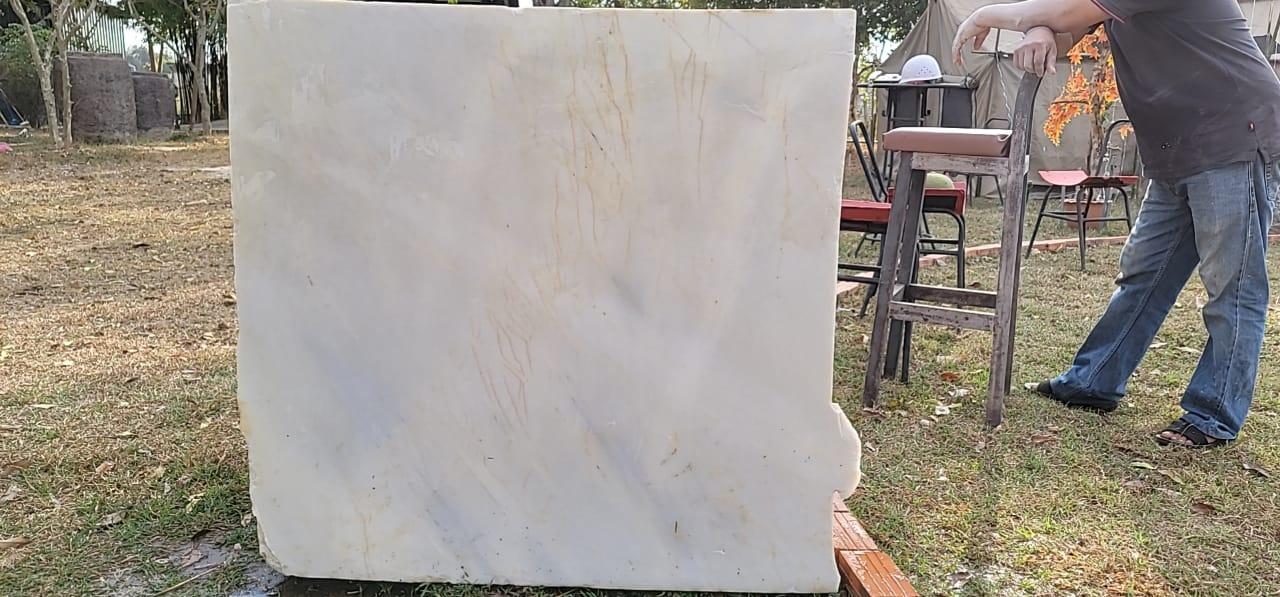 Laos Marble block