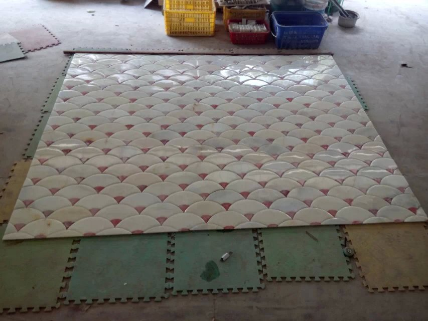 marble patche work for flooring