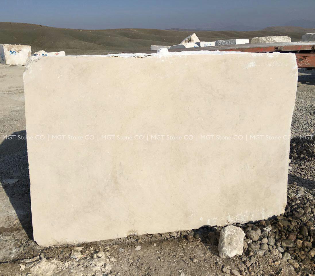 Marjan Beige Marble Block