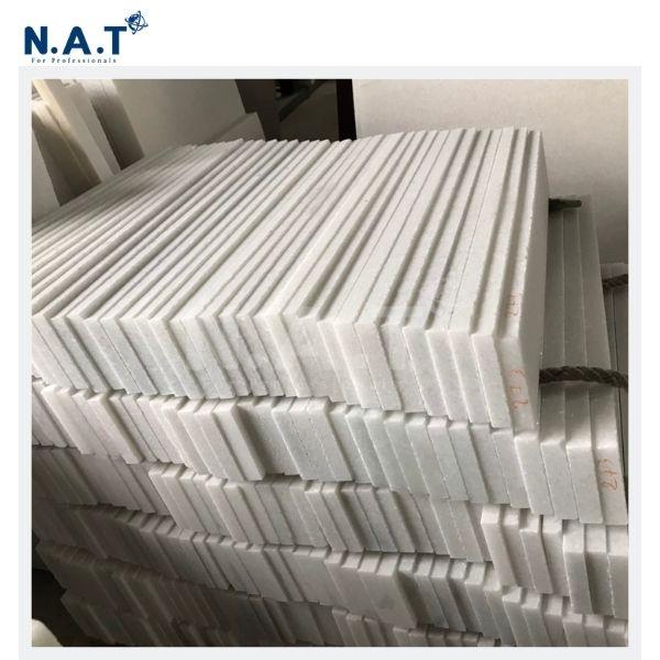 Vietnam Crystal White marble Skirting