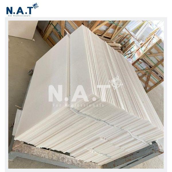 Vietnam pure white marble stairs