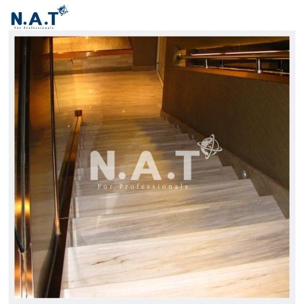 Vietnam Milky White Marble stairs