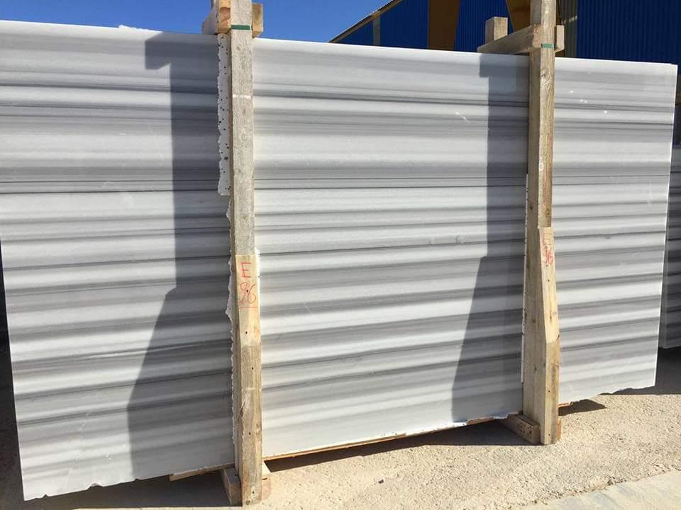 Marmara Equator White Polished Marble Slabs