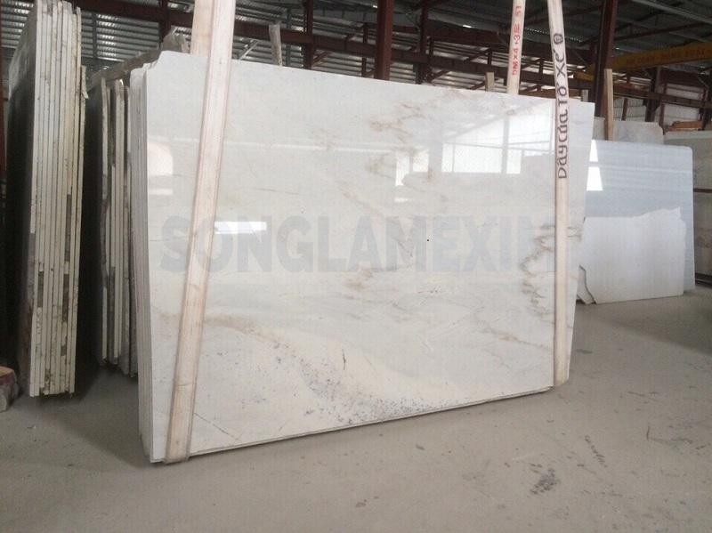 Milky White Marble Slab
