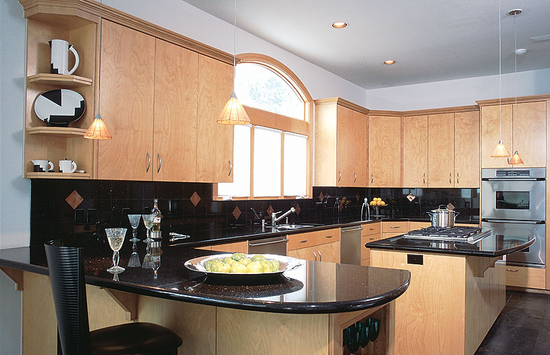 Black galaxy granite tops