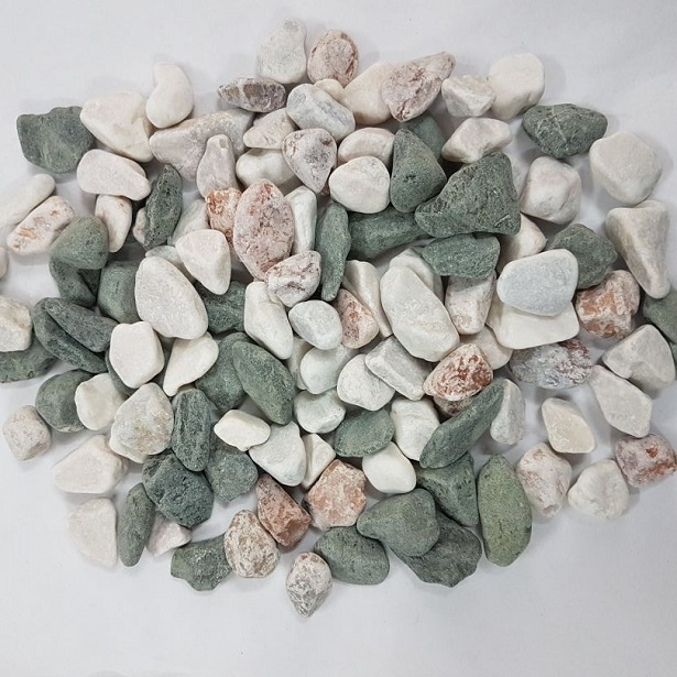 Mix color pebble