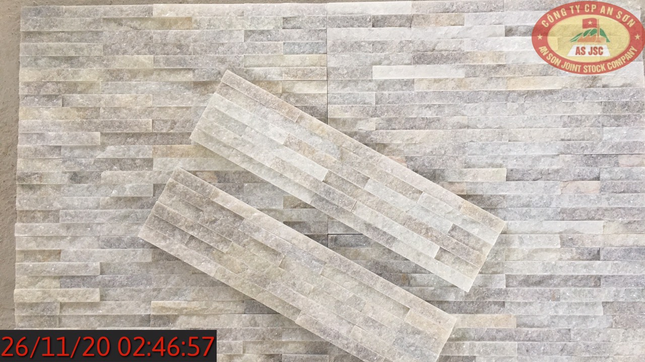 Grey color stacked stone natural culture stone for wall cladding