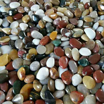 Mixed Color Pebbles Stone  Decoration Polished River Washed Stone in Garden and Landscaping