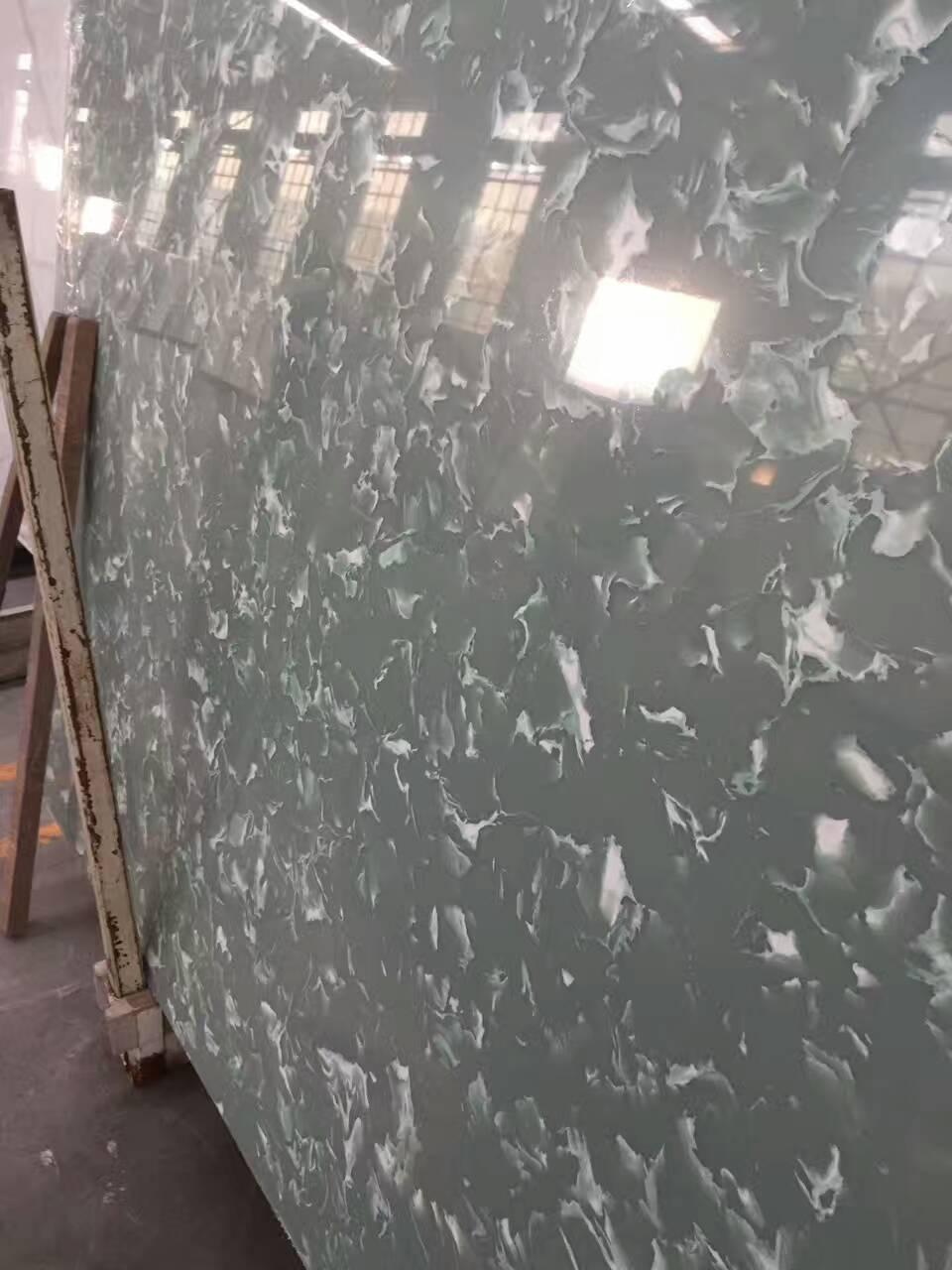 Sparkle color artificial quartz stone for countertops