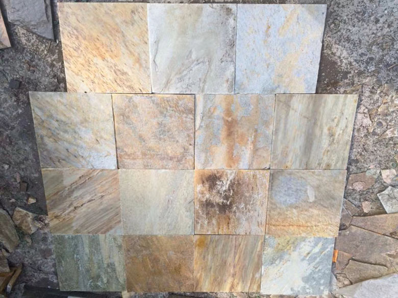China Rust Slate Stacked Stone Veneer