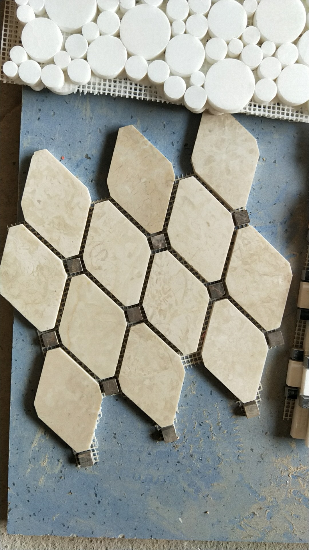Natural Stone Beige Stone Mosaic