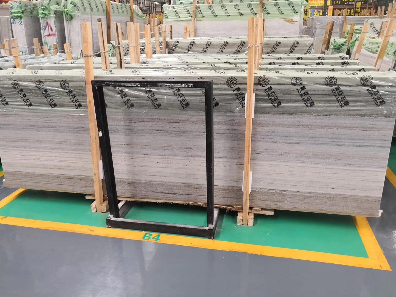 Crystal Wood Grain Marble Slabs
