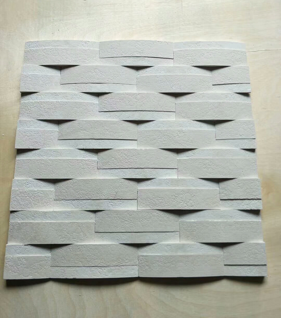 Natural white colour marble culure stone for sale