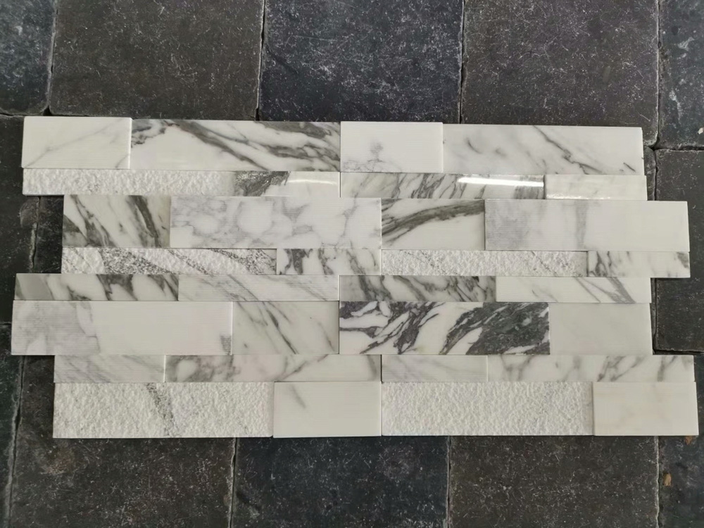Beautiful polished marble wall covering stone