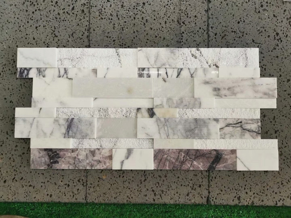 Multicolor Marble culture stone wall cladding panels