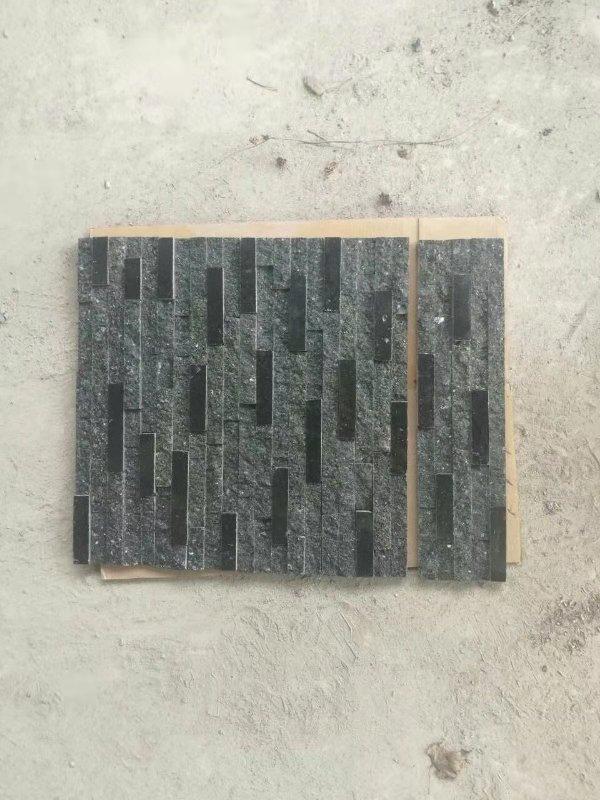 Black Quartzite Cultured Stone