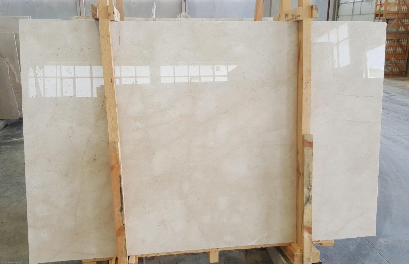 moon cream beige marble slab