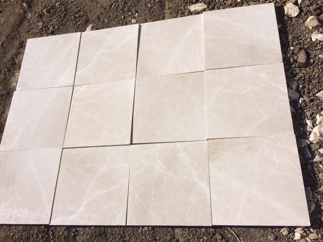 moon cream beige marble tile