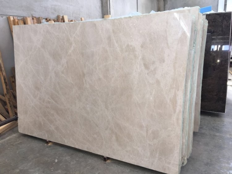moon cream beige marble slab 2