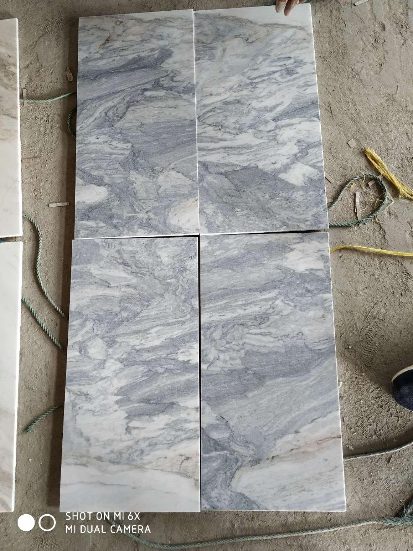 Moorland Grey Marble Tile Polished Bathroom Floor