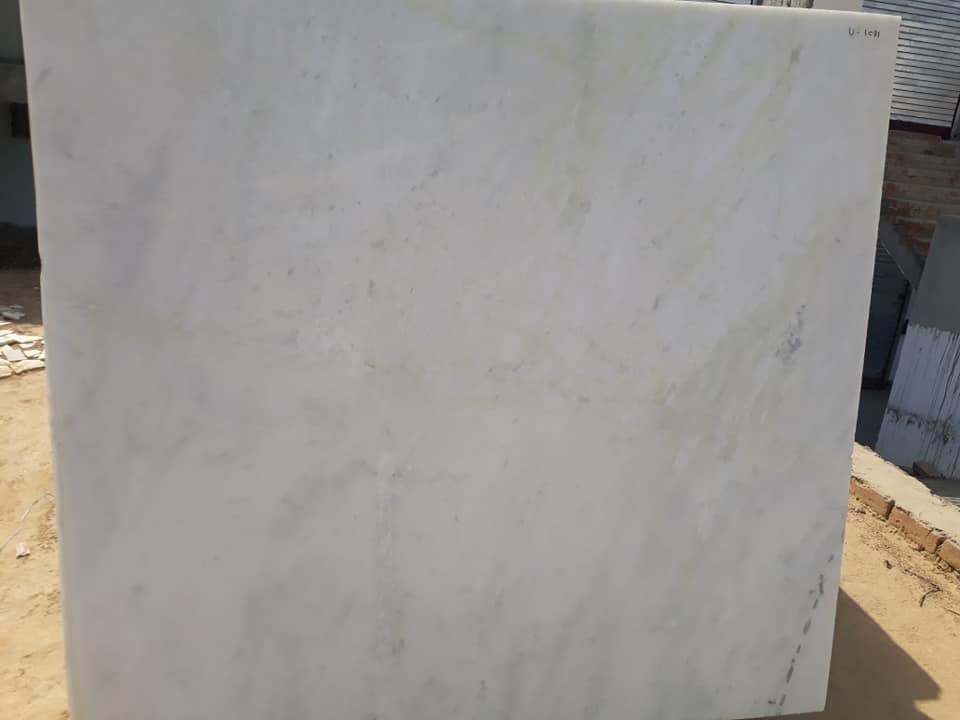 Morwad White Marble Polished Tiles