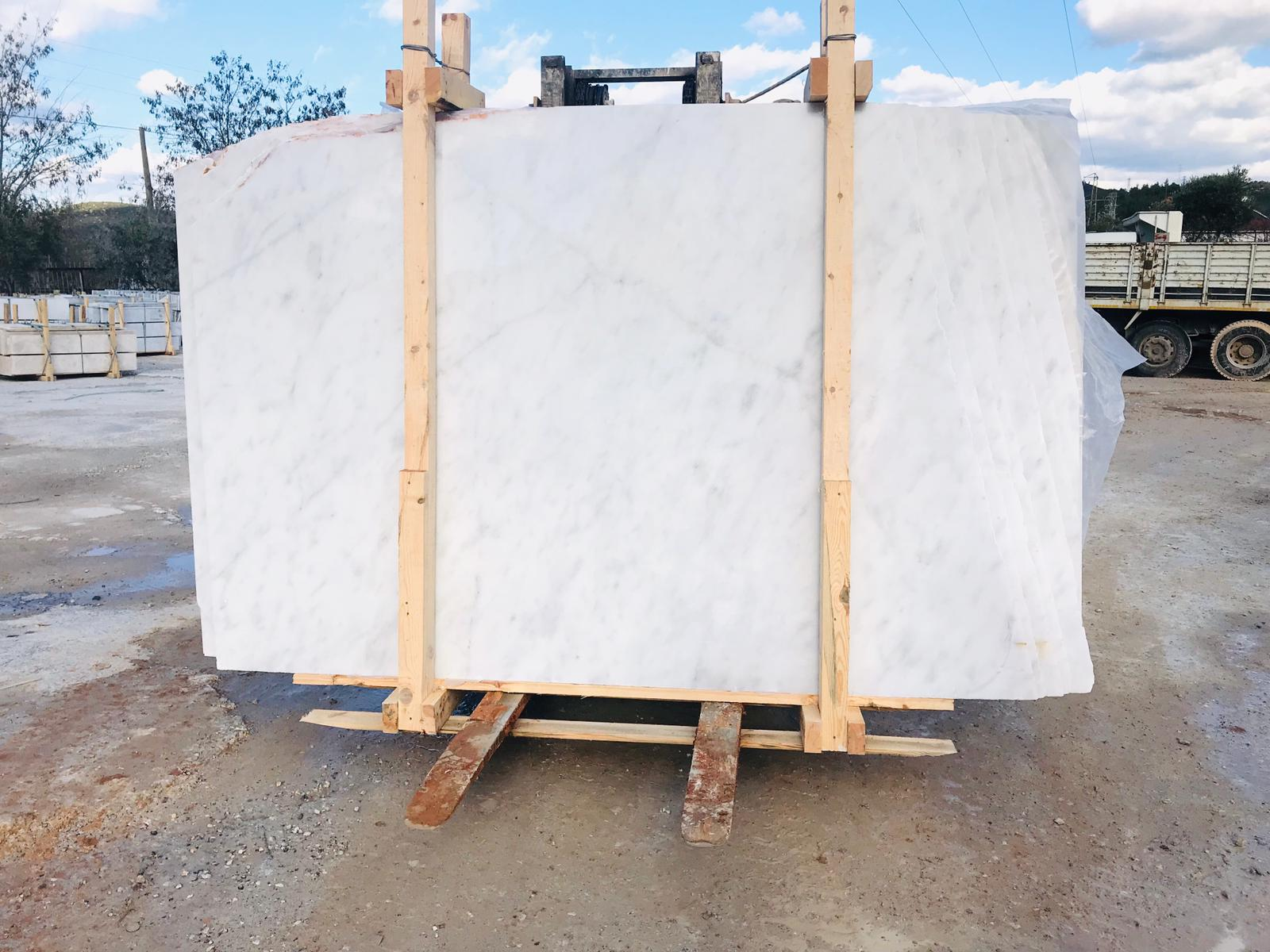 Turkish Mugla White Marble Slabs