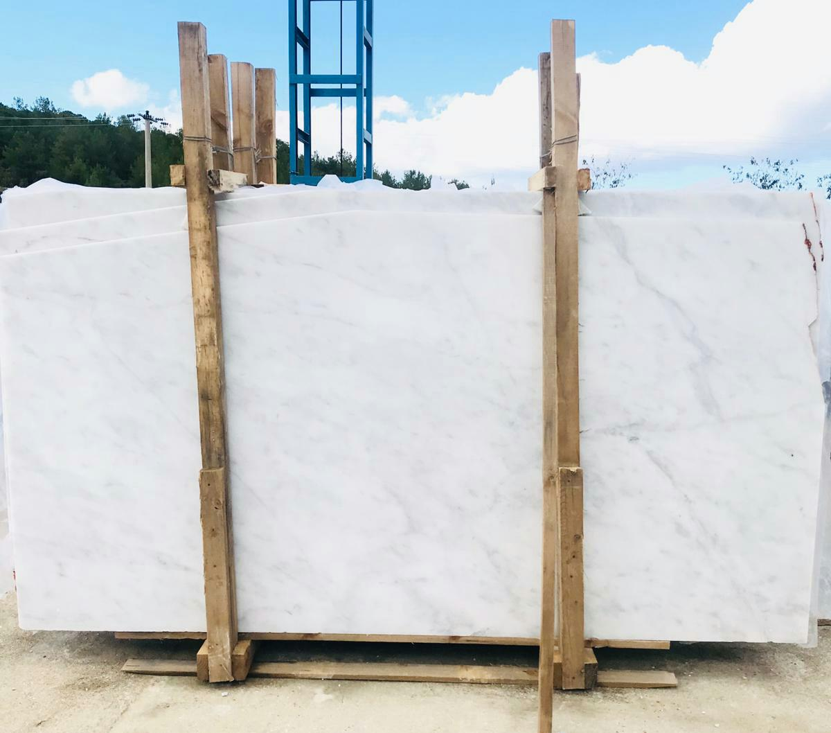 Mugla White Marble White Polished Marble Slabs
