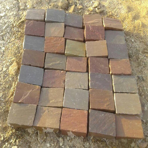 MULTI COLOR PAVING STONES