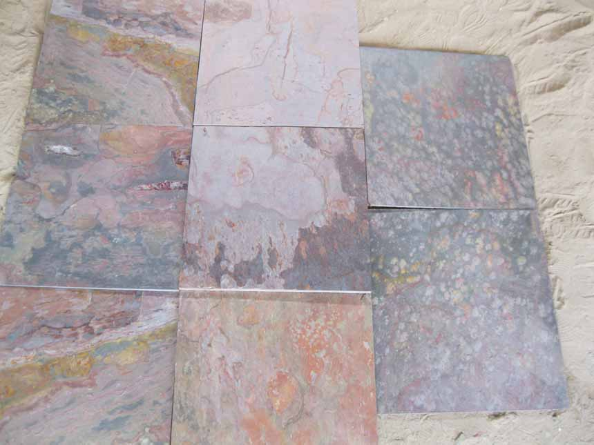 Multi colour Slate Tiles