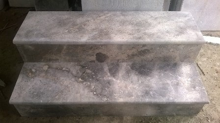 Stairs Polished Step Riser Tiles Multicolor Marble
