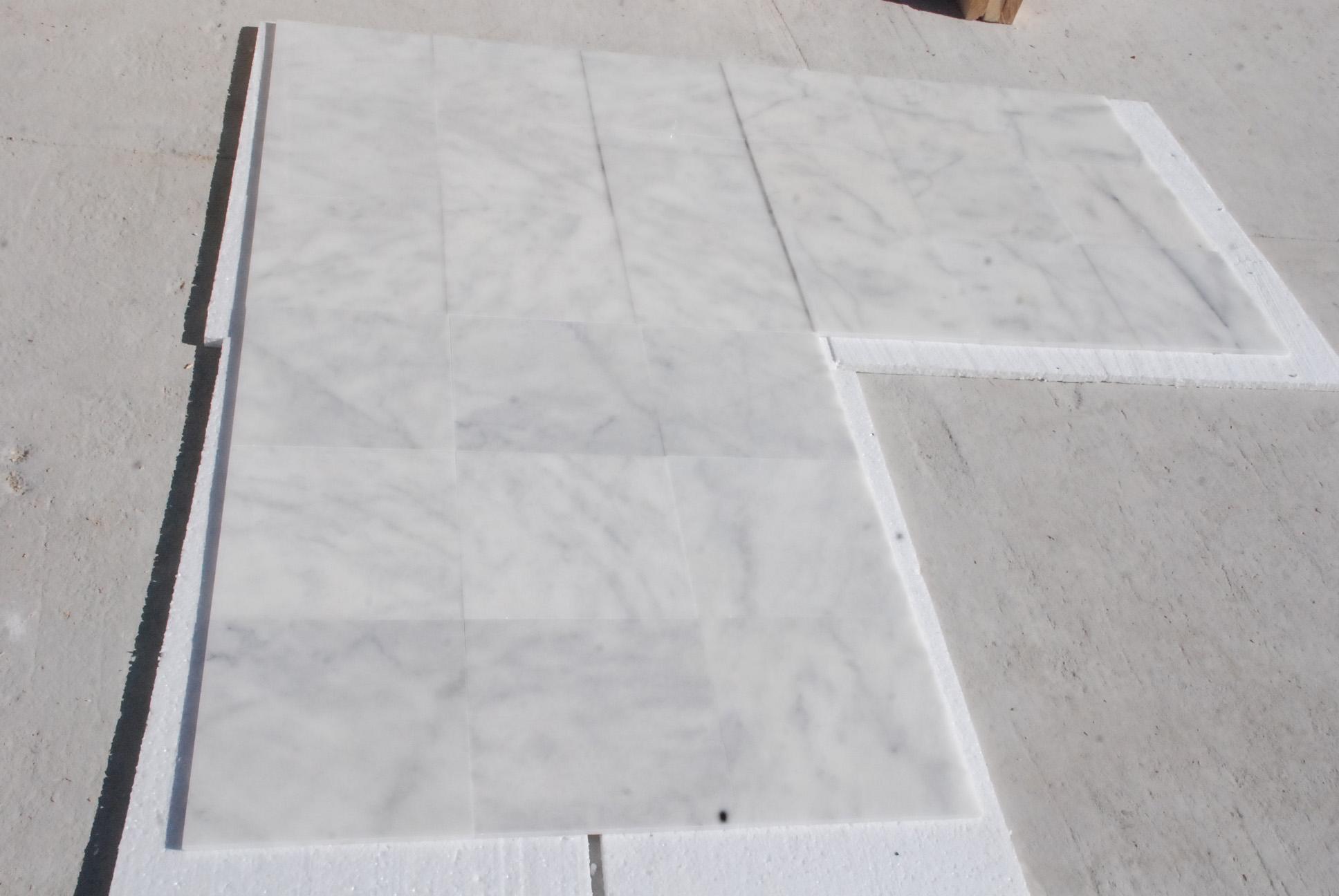 Bianco Ibiza White Marble Tiles