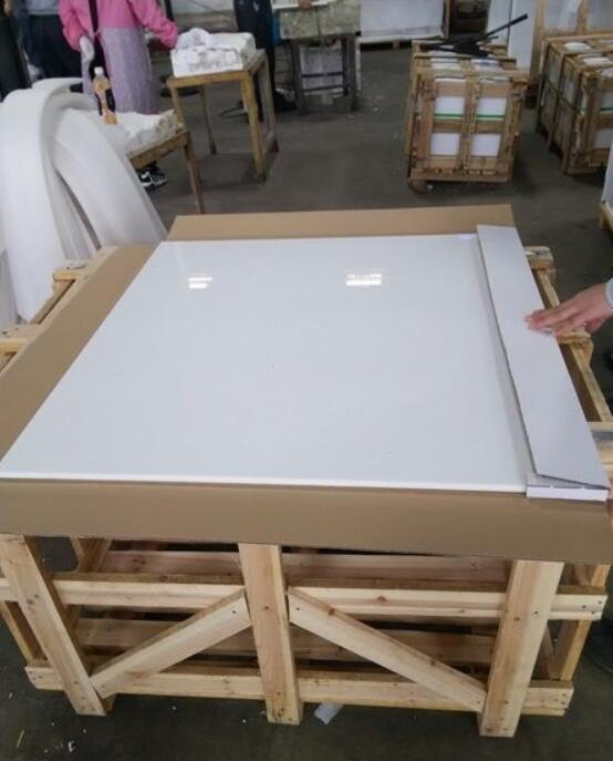 Nano White Glass Stone Slabs