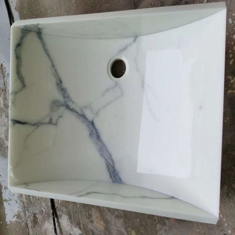 Nano Crystal Glass Artificial Sink