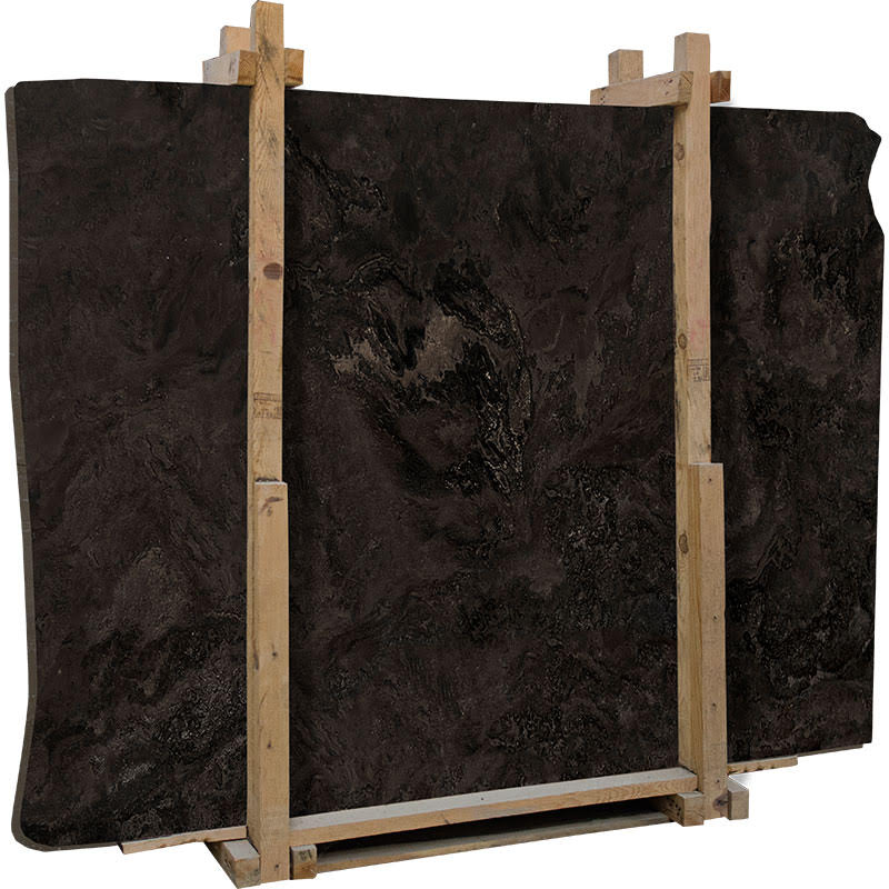 Narcisse Travertine Slabs Turkish Black Travertine Slabs