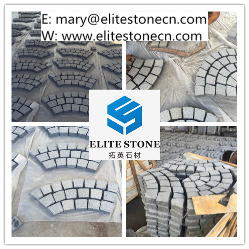 natural granite outdoor paving stone for garden