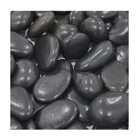 NJ-004 Black Polished stone