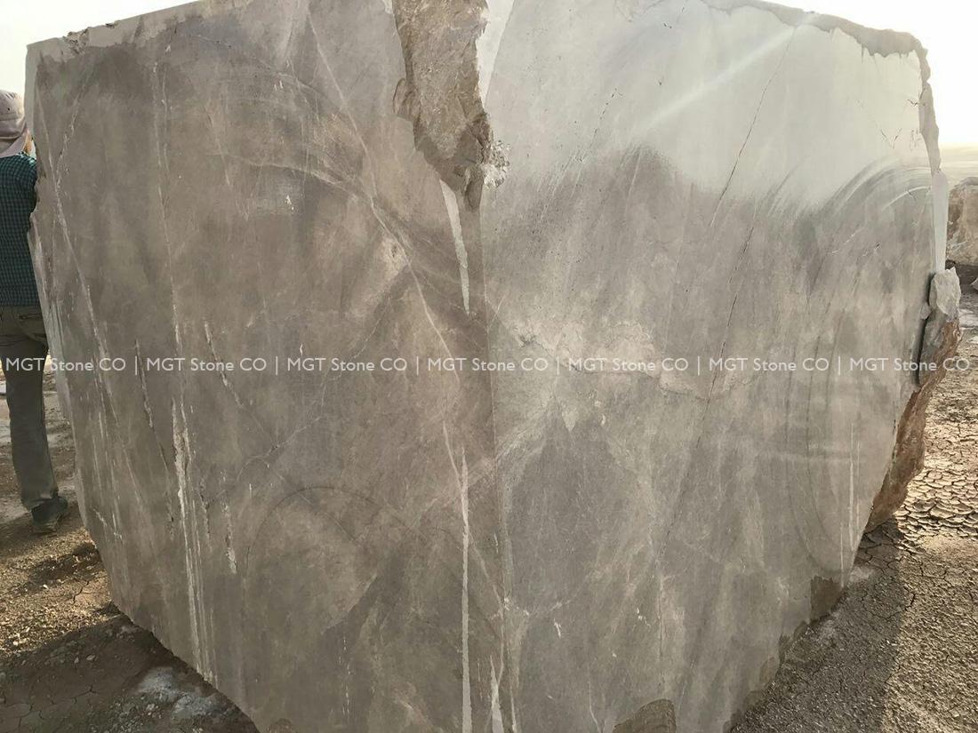 New Silk Emperador Marble Block