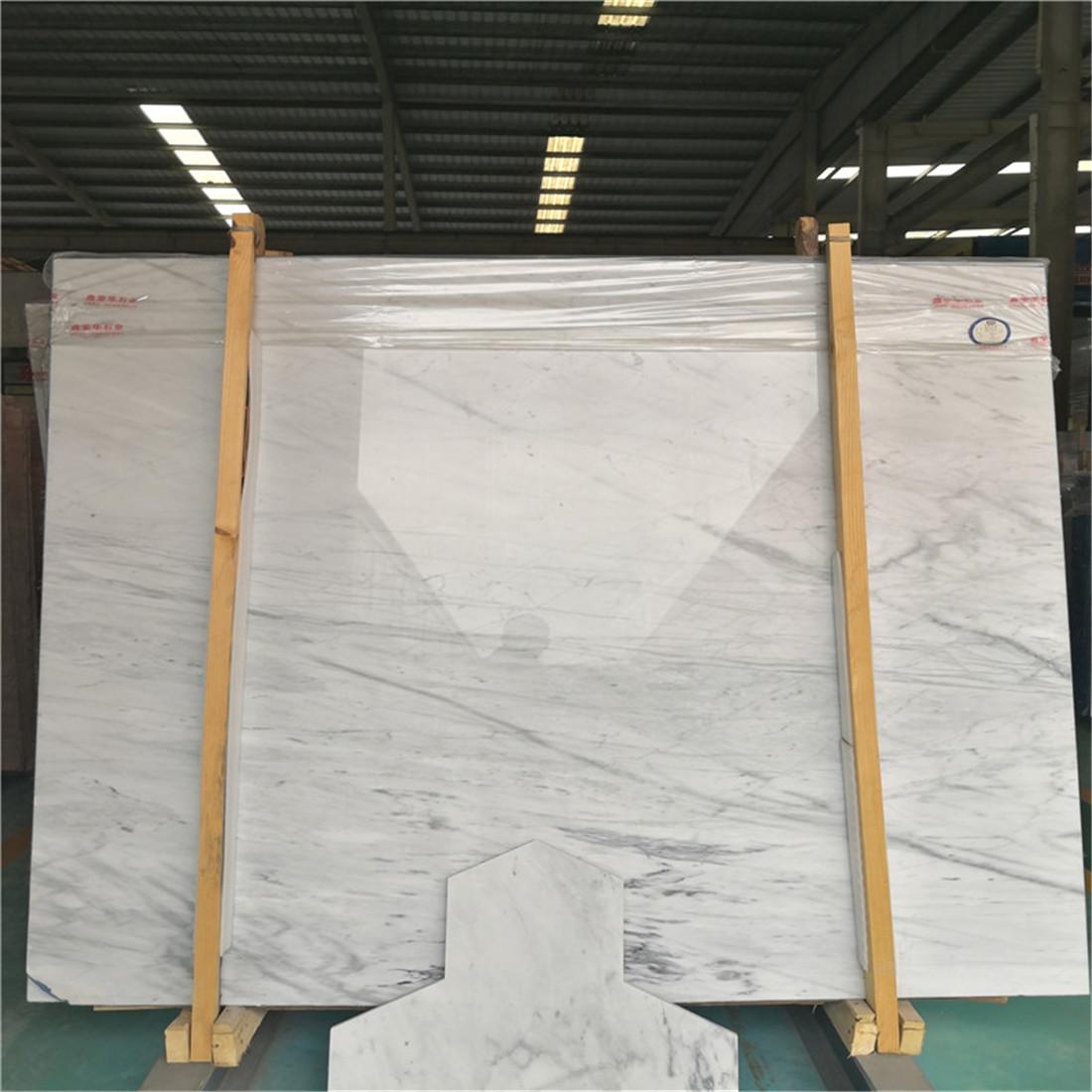 New Carrara White marble Slab