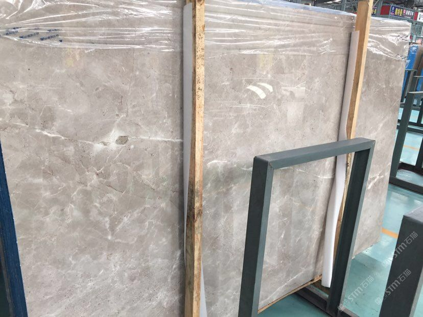 New DORA grey cloud marble slabs Exclusive New Products Quarry directly selling