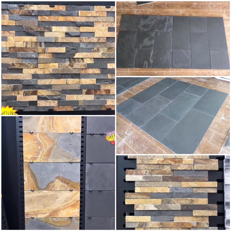 Slate Tiles Black slate tiles