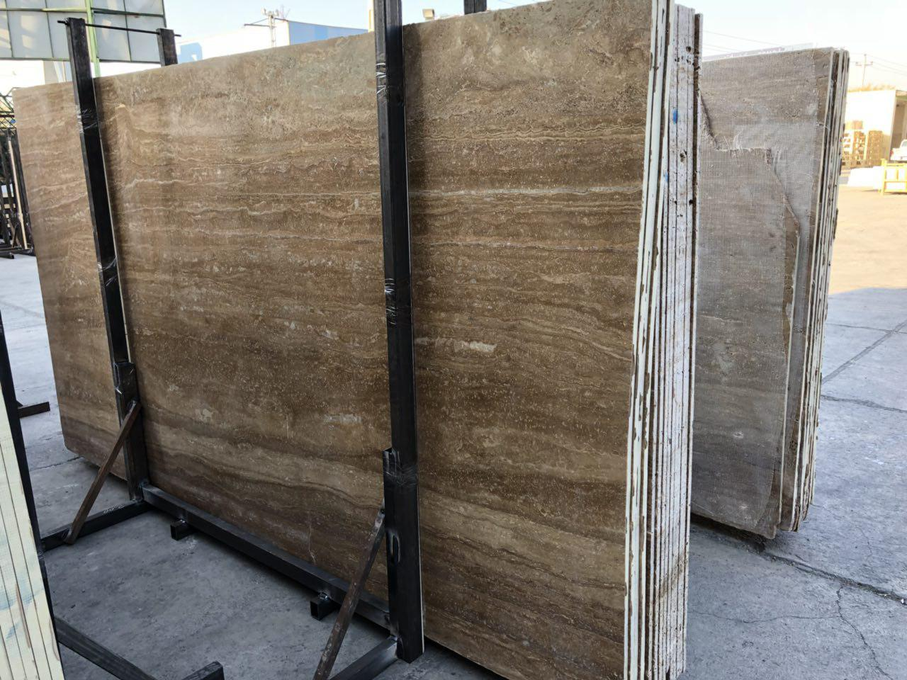 Travertine Noce Dark