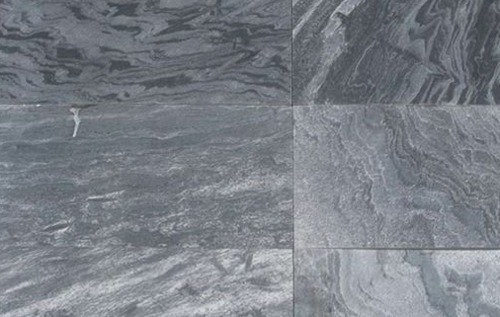 Silver Grey - Natural - 600x300 mm - Wet Quartzite Tiles