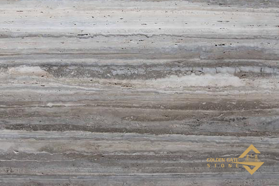 Ocean Silver Travertine