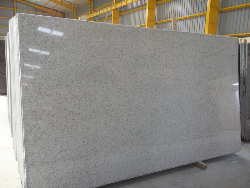 Ocean White Granite Polished Slabs