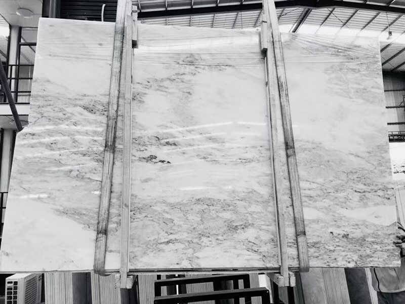 chinese ocean white marble