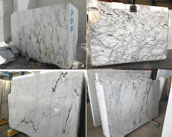 Calcatta Marble Blocks and Slabs