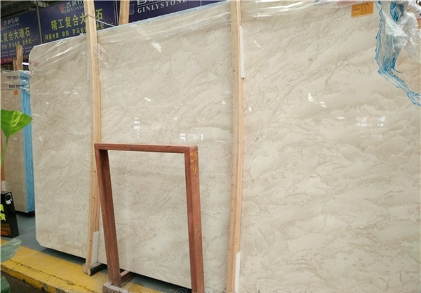 Oman Beige Marble Slabs Tiles Cut to Sizes