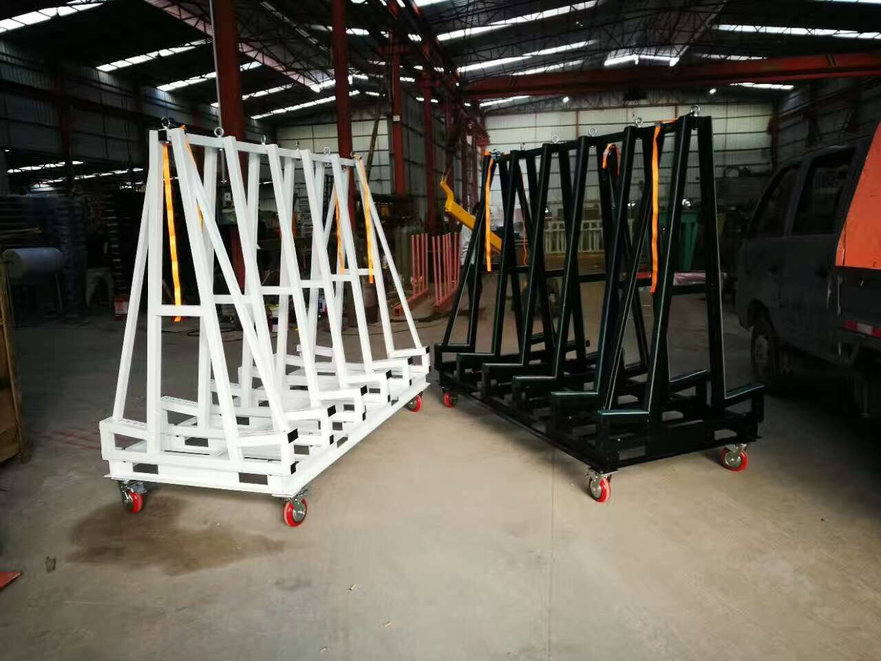 Slab Storage Steel Rack