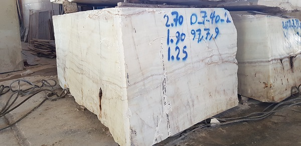 White Onyx Blocks Iranian Natural Onyx Blocks